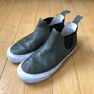 Vans Chukka Gore Army Green Leather